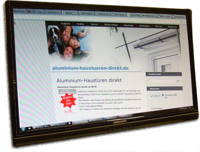 aluminium-haustueren-direkt.de der Fachshop für Alu-Haustüren, Kunststoff-Haustüren mit Seitenteil, Preise auf Anfrage