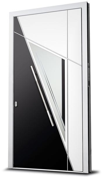 Alu-Haustür ALPHAX aus der Premium-Serie von Wirus-Fenster