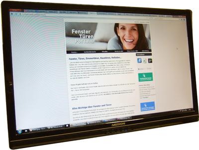 Die Website tueren-fenster-portal.de ist ein Branchenprojekt von webb-werk
